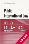 Cover of Public International Law in a Nutshell (eBook)