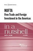 Cover of Folsom's NAFTA, Free Trade and Foreign Investment in the Americas in a Nutshell