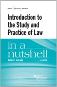 Cover of Hegland's Introduction to the Study and Practice of Law in a Nutshell
