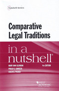 Cover of In a Nutshell: Comparative Legal Traditions