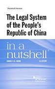 Cover of The Legal System of the People's Republic of China in a Nutshell