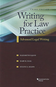 Cover of Writing for Law Practice: Advanced Legal Writing