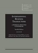 Cover of International Business Transactions: A Problem-Oriented Coursebook