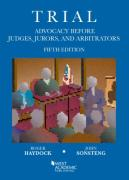 Cover of Trial Advocacy Before Judges, Jurors, and Arbitrators