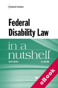 Cover of Federal Disability Law in a Nutshell (eBook)