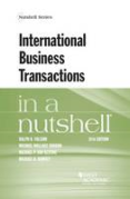 Cover of International Business Transactions in a Nutshell