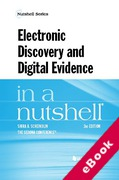 Cover of Electronic Discovery and Digital Evidence in a Nutshell (eBook)