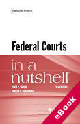 Cover of Federal Courts in a Nutshell (eBook)