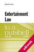 Cover of Entertainment Law in a Nutshell (eBook)