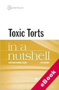 Cover of Toxic Torts in a Nutshell (eBook)