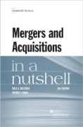 Cover of Mergers and Acquisitions in a Nutshell