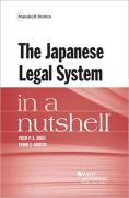 Cover of The Japanese Legal System in a Nutshell