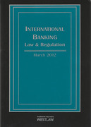 Cover of International Banking Law and Regulation 2015 1ed