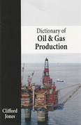 Cover of Dictionary of Oil and Gas Production