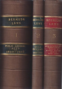 Cover of Acts of the Legislature of the Islands of Bermuda 1690 to 1923
