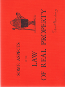Cover of Some aspects of the Law of Real Property