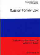 Cover of Russian Family Law