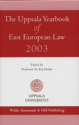 Cover of The Uppsala Yearbook of East European Law 2003