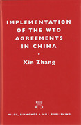 Cover of Implementation of the WTO Agreements in China