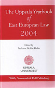 Cover of The Uppsala Yearbook of East European Law 2004