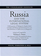 Cover of Russia and the International Legal System