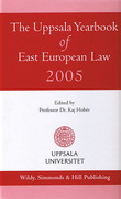 Cover of The Uppsala Yearbook of East European Law 2005