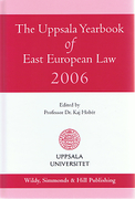 Cover of The Uppsala Yearbook of East European Law 2006