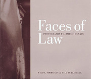 Cover of Faces of Law: Photographs by James F. Hunkin