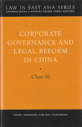 Cover of Corporate Governance and Legal Reform in China