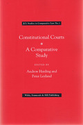 Cover of Constitutional Courts: A Comparative Study