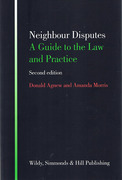 Cover of Neighbour Disputes: A Guide to the Law and Practice