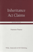 Cover of Inheritance Act Claims