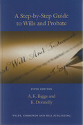 Cover of A Step-by-Step Guide to Wills and Probate