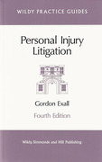 Cover of Personal Injury Litigation