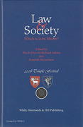 Cover of Law & Society: Which is to be Master?