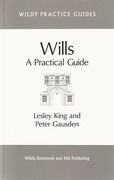 Cover of Wills: A Practical Guide