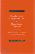 Cover of Foundations of Comparative Law: Methods and Typologies
