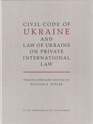Cover of Civil Code of Ukraine and Law of Ukraine on Private International Law