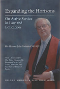 Cover of Expanding the Horizons: On Active Service in Law and Education