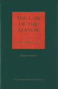Cover of The Law of the Manor