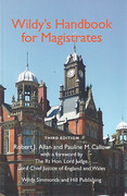 Cover of Wildy's Handbook for Magistrates