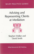 Cover of Advising and Representing Clients at Mediation