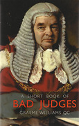 Cover of A Short Book of Bad Judges