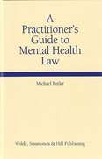 Cover of A Practitioner's Guide to Mental Health Law