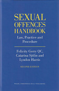 Cover of Sexual Offences Handbook: Law, Practice and Procedure