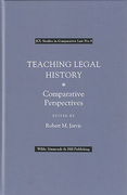 Cover of Teaching Legal History: Comparative Perspectives