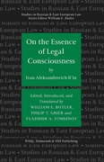 Cover of On the Essence of Legal Consciousness