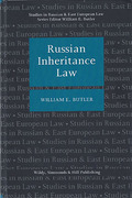 Cover of Russian Inheritance Law