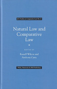 Cover of Natural Law and Comparative Law