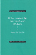 Cover of Reflections on the Supreme Court of Ghana